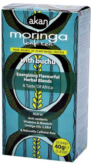 Akan Moringa & Buchu Herbal Tea