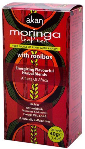 Akan Moringa & Rooibos Tea
