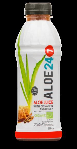 Totally Wild Organic Aloe Cinnamon & Honey Juice