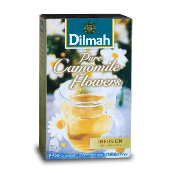 Dilmah Pure Camomile Flowers 20 Tagged