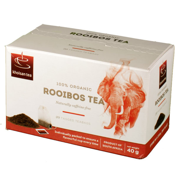 Khoisan Organic Honeybush and Rooibos Tea