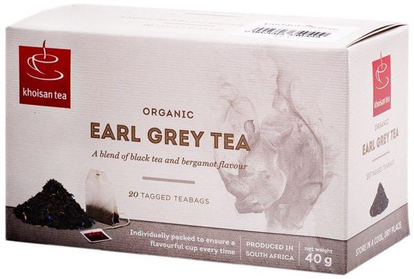 Khoisan Tea Organic Earl Grey Envelope