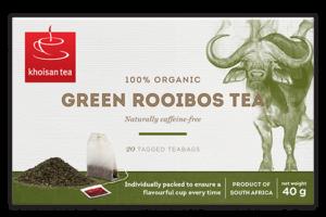 Khoisan Tea Organic Pure Green Rooibos