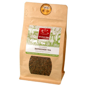 Khoisan Tea Organic Refresher Peppermint, Loose Tea