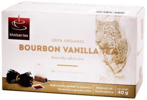 Khoisan Tea Organic Rooibos Bourbon Vanilla Envelope