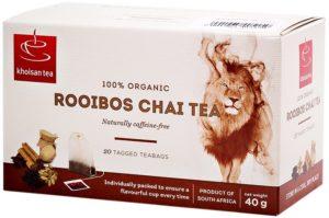 Khoisan Tea Organic Rooibos Chai Envelope