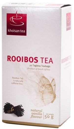 Khoisan Tea Rooibos Vanilla