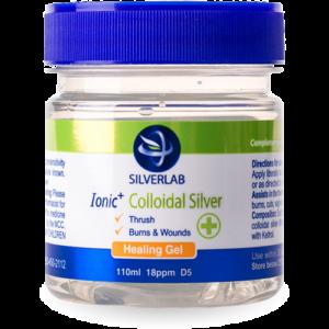 Silverlab Ionic Colloidal Silver Healing Gel