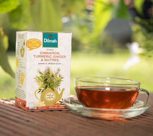 Dilmah Infusion Rooibos Cinnamon, Turmeric, Ginger & Nutmeg Tea