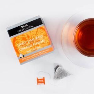 Dilmah Lively Lime & Orange Fusion Tea