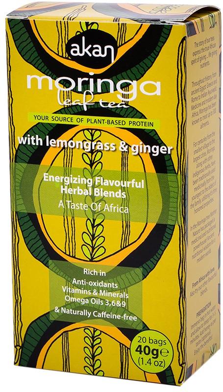Akan Moringa, Lemongrass & Ginger Tea