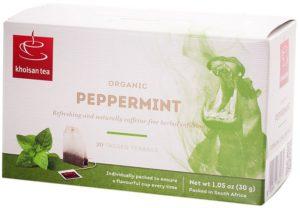 Khoisan Tea Organic Peppermint Envelope