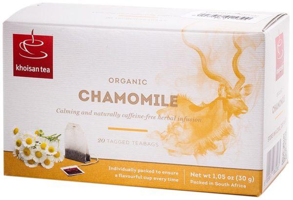 Khoisan Tea Organic Chamomile Envelope