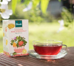 Dilmah Infusion Tangerine Rose & Grapefruit Tea