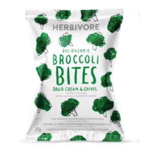Herbivore Organic Raw Broccoli Sour Cream & Chives Chips