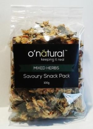 O'Natural Mixed Herbs Savoury Snack Pack