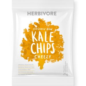 Herbivore Organic Raw Kale Cheezy Chips