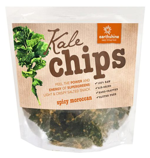 Earthshine Moroccan Kale Chips