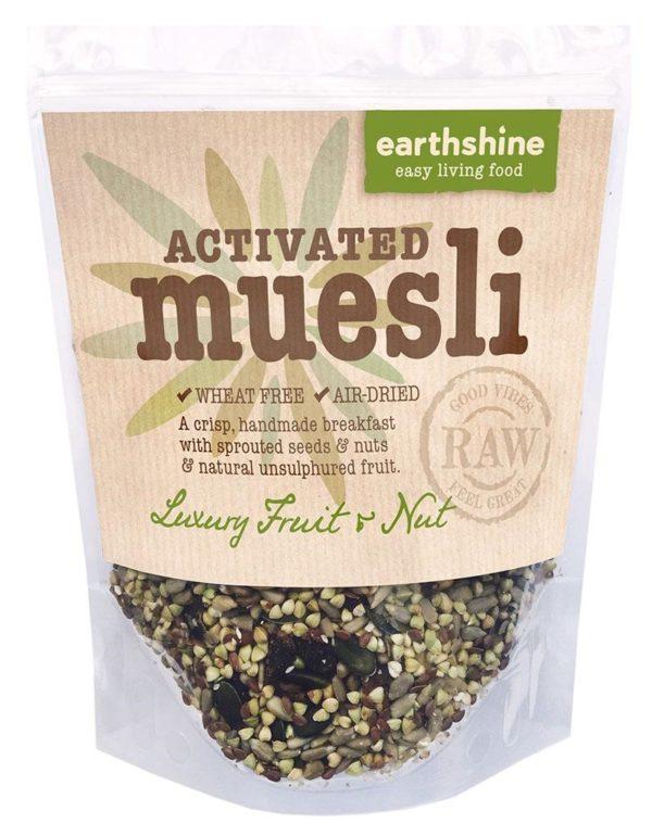 Earthshine Luxury Fruit & Nut Activated Muesli