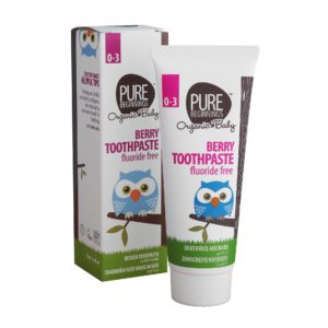 Pure Beginnings Berry Toothpaste