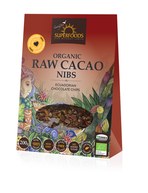 Soaring Free Superfoods Raw Cacao Nibs