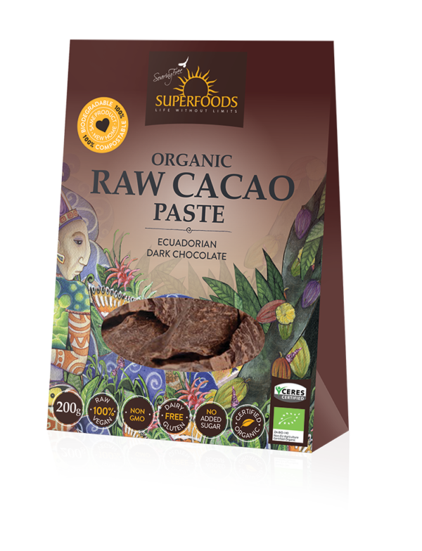 Soaring Free Superfoods Raw Cacao Paste