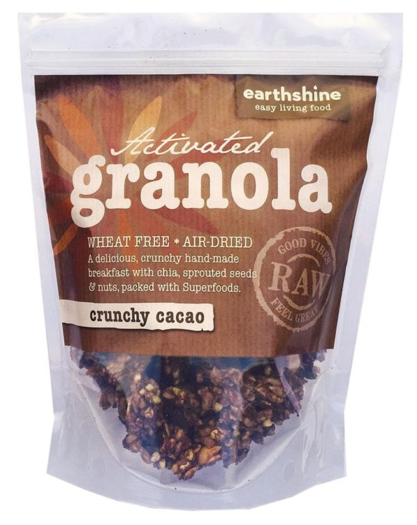Earthshine Activated Crunchy CacaoGranola