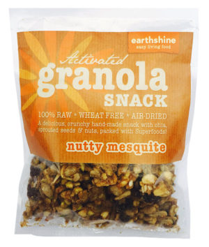 Earthshine Activated Granola Nutty Mesquite Snack