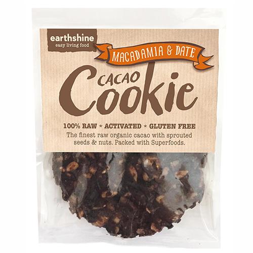 Earthshine Macadamia and Date Cacao Cookie