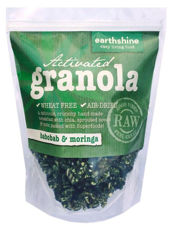 Earthshine Moringa & Baobab Activated Granola