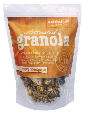 Earthshine Nutty MesquiteActivated Granola