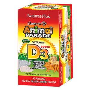 Animal Parade Vitamin D3 Chewables