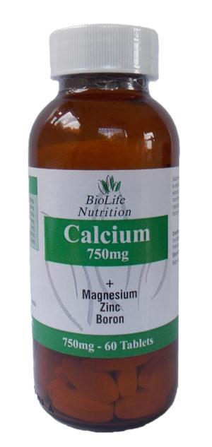 BioLife Calcium Magnesium Zinc & Boron