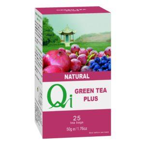 Qi Fairtrade & Organic Green Tea Plus