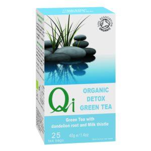 Qi Fairtrade & Organic Detox Tea