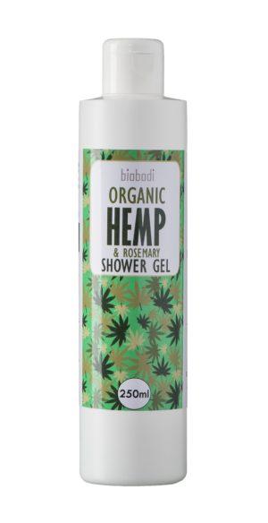 Biobodi Organic Hemp & Rosemary Shower Gel