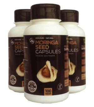 Moringa World Moringa Seed Powder Capsules