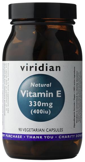 Viridian Natural Vitamin E 400iu