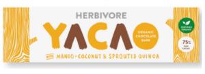 Herbivore Yacoa Raw Chocolate Mango, Sprouted Quinoa & Coconut
