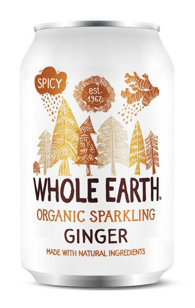 Whole Earth Ginger Organic Drink 330ml
