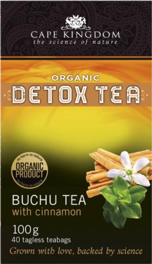 Buchulife Buchu & Cinnamon Detox Tea