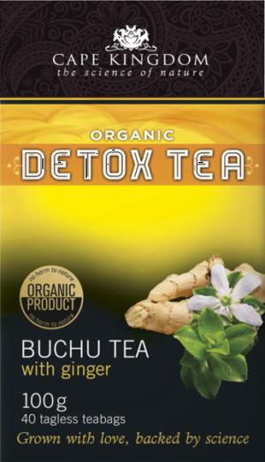 Buchulife Buchu & Ginger Detox Tea