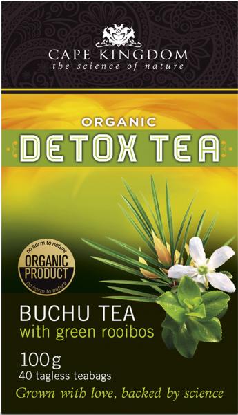Buchulife Buchu & Green Rooibos Detox Tea