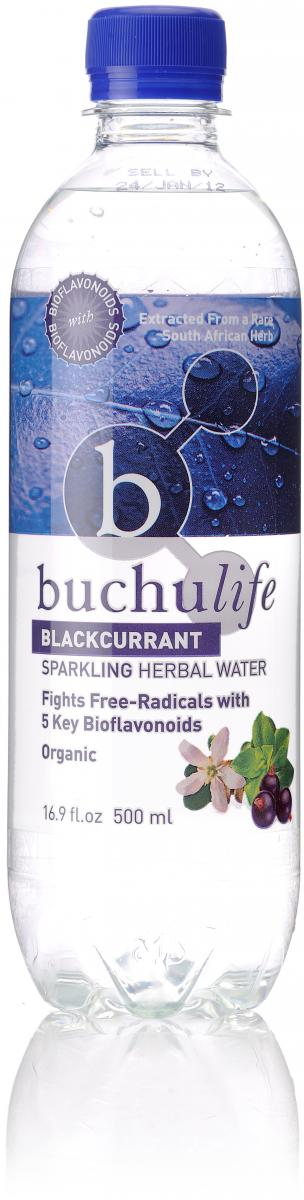 Buchulife Herbal Sparkling Water Blackcurrant