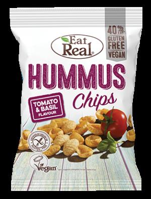 Eat Real Tomato & Basil Hummus Chips