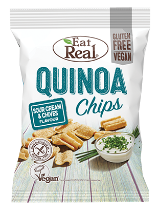 Eat Real Sour Cream & Chives Quinoa Chips
