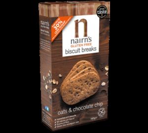 Nairns Gluten Free Chocolate Chip Biscuits