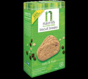 Nairns Gluten Free Oat & Fruit Biscuits
