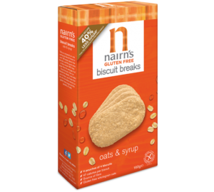 Nairns Gluten Free Oat & Syrup Biscuits