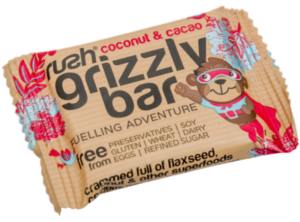 Rush Nutrition Grizzly Bar